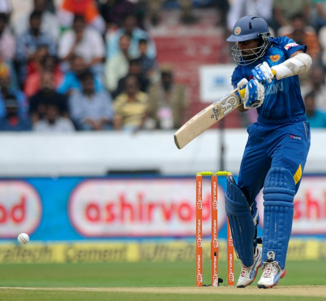 Dilshan made a valiant 53