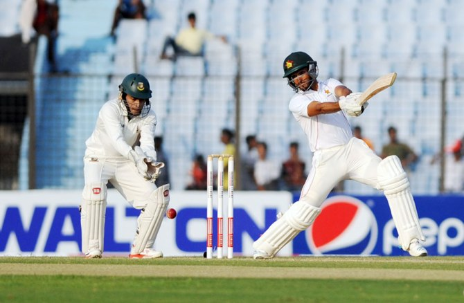 Raza excelled with both the bat and ball