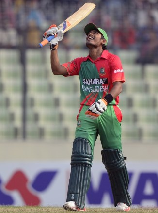 Haque smashed nine boundaries during his innings of 95