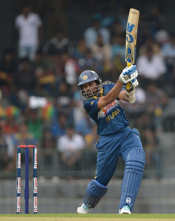 Dilshan was named Man of the Match for his spectacular knock of 88 and taking the wicket of Cook