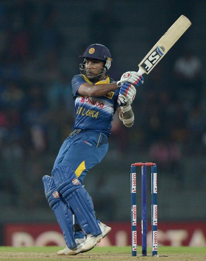Jayawardene hit five boundaries during his innings of 55