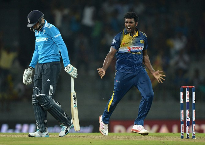 Perera was fined 20 per cent of his match fee for verbally abusing Root