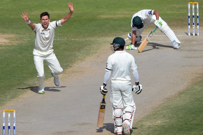 Boult sliced through Pakistan's top order with relative ease