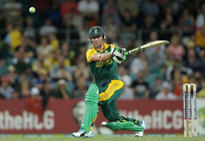 De Villiers made a gutsy 52