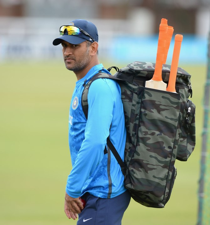 It is still unclear whether Dhoni will play the first Test