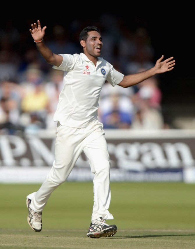 Kumar was promoted due to his excellent performance in the Test series against England
