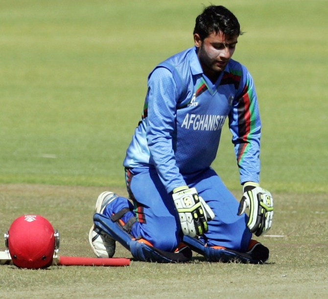 Ghani scored his maiden ODI century against Zimbabwe in July
