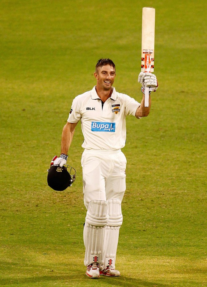 Marsh has already scored two centuries in this year's Sheffield Shield