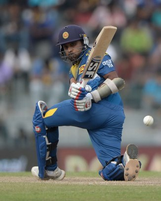 Jayawardene scored 55 and 77 in the first two ODIs of the seven-match series