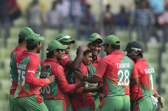 Islam became the first player in ODI history to take a hat-trick on debut