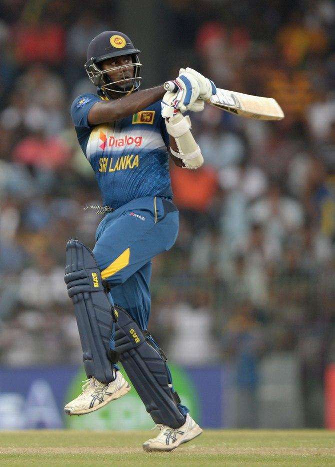 Mathews hit five boundaries during his match-winning innings of 51