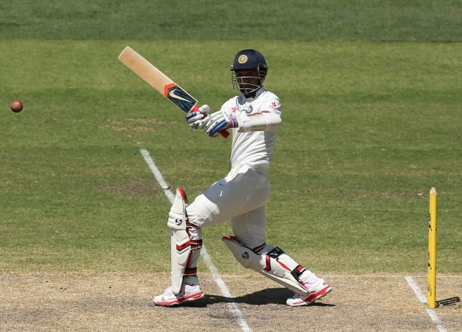 Rahane's good form with the bat continued