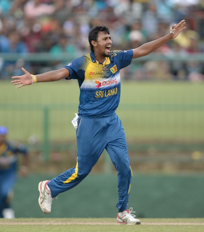 Lakmal finished with a career-best 4-30 off eight overs