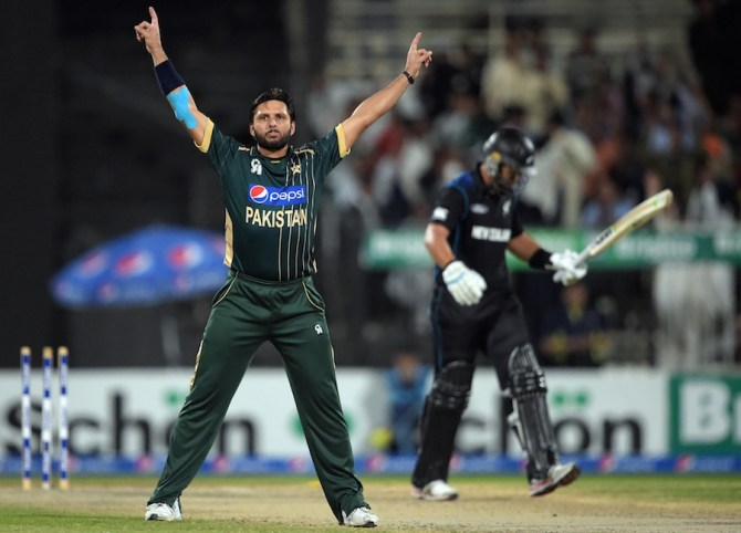 Afridi excelled with both the bat and ball