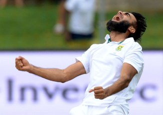 Tahir sliced through the West Indies' middle order with relative ease