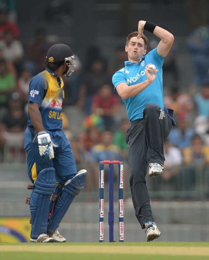 Woakes missed England's training session on Monday due to an upset stomach