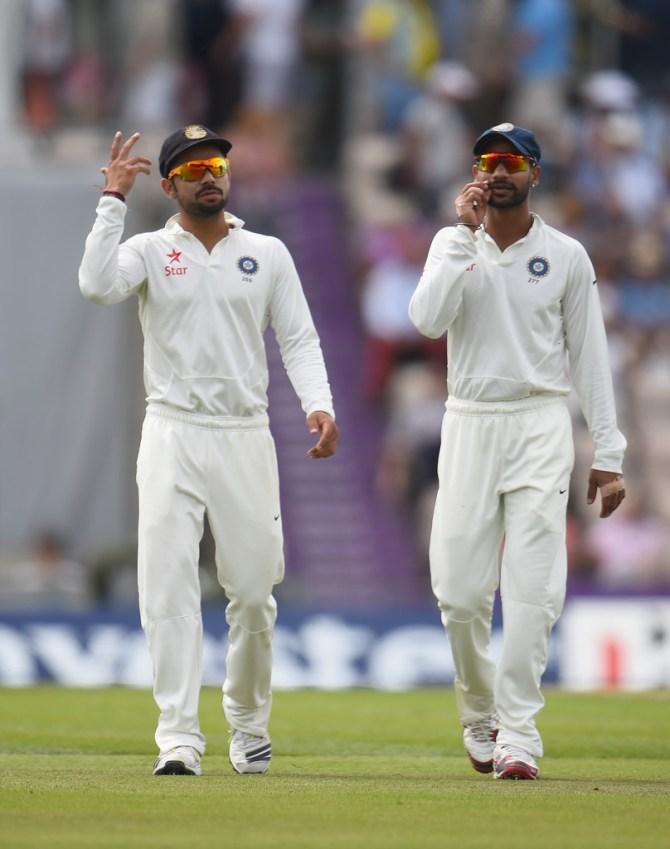 """Kohli reportedly blamed Dhawan for his cheap dismissal"""