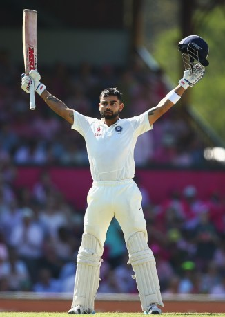 Kohli smashed 20 boundaries during his unbeaten innings of 140