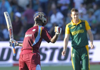 Russell is over the moon after leading the West Indies to victory