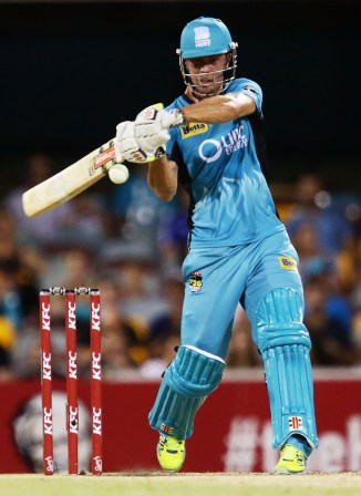 Lynn only took 18 balls to bring up his half-century