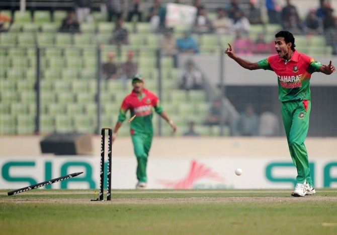 Islam will replace Hossain in Bangladesh's World Cup squad