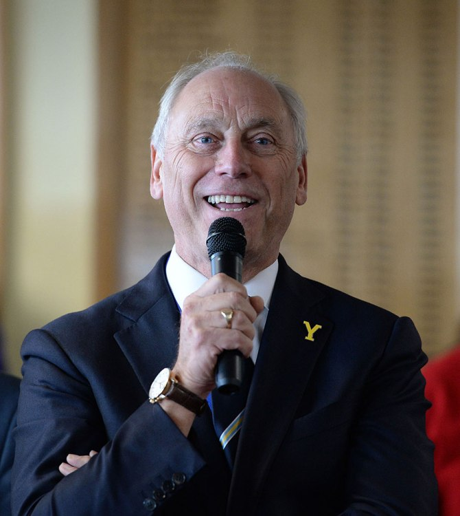 """""""It is a great honour and a privilege to be elected as ECB chairman and I would like to thank the membership of the ECB for offering me their full support"""""""