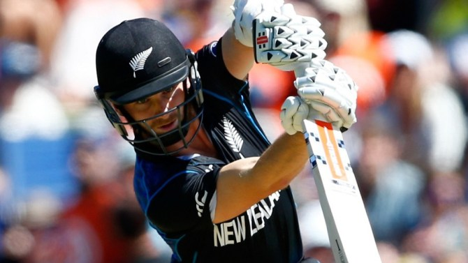 Williamson hit six boundaries during his knock of 38