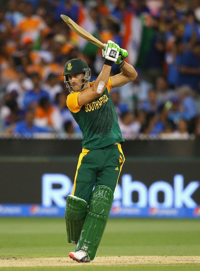Du Plessis made a valiant 55