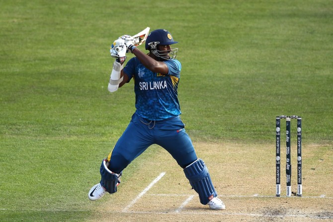 Perera hammered six boundaries and a six during his unbeaten knock of 47