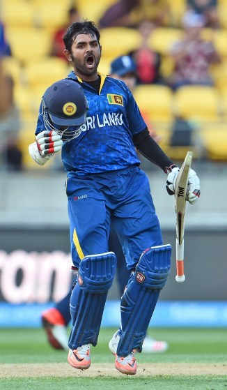 Thirimanne  became the youngest Sri Lankan player to score a century in the World Cup