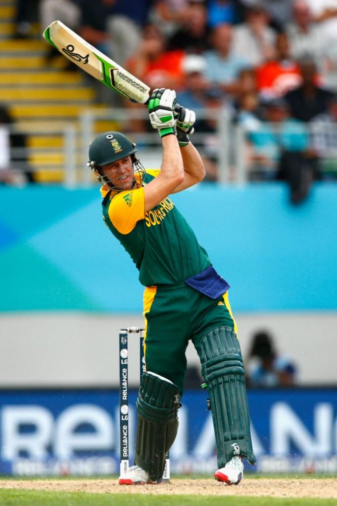 De Villiers made a gutsy 65