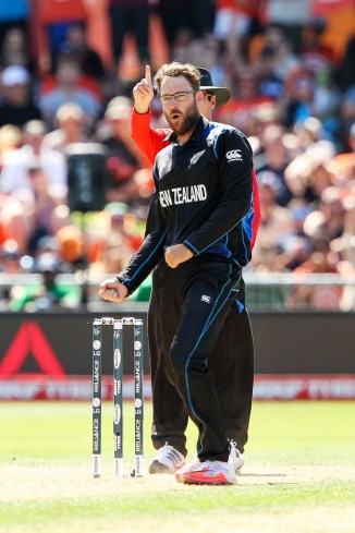 Vettori is the first New Zealand player to take 300 ODI wickets