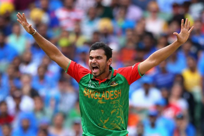 Mortaza will miss Bangladesh's next ODI