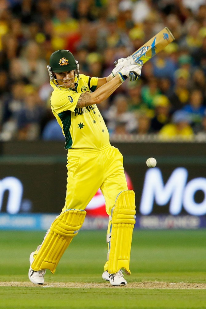 Clarke scored 74 in his final ODI innings