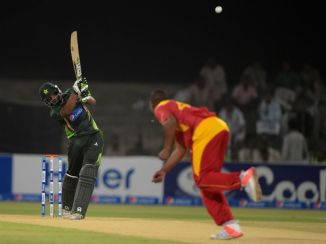 Ahmed hammered 12 boundaries and three sixes during his career-best innings of 83