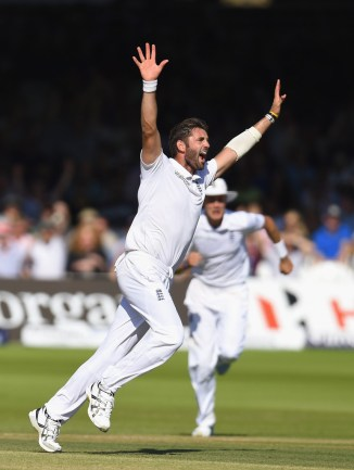 Plunkett's last Test match for England came against India in July 2014
