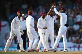 The West Indies ripped through England's top and middle order