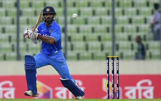 Dhawan's excellent form with the bat continued