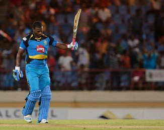 Charles hammered two boundaries and four sixes during his knock of 47