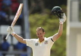 Voges, 35, became the oldest batsman to score a Test century on debut