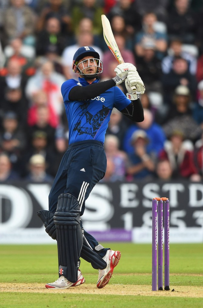 Hales ensured England got off to a brilliant start