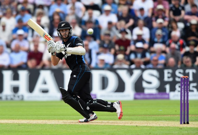 Williamson was New Zealand's top-scorer with 90 runs