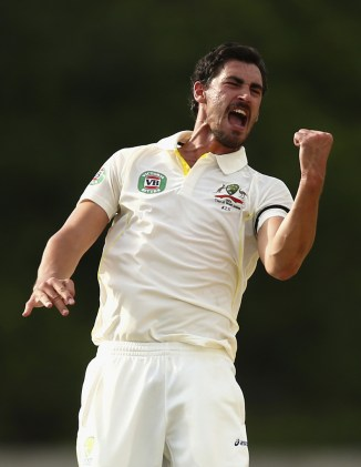 Starc finished with figures of 4-28 off 18 overs