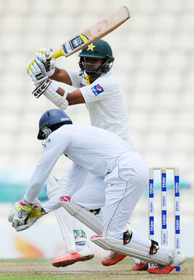 Ali scored his 20th Test fifty