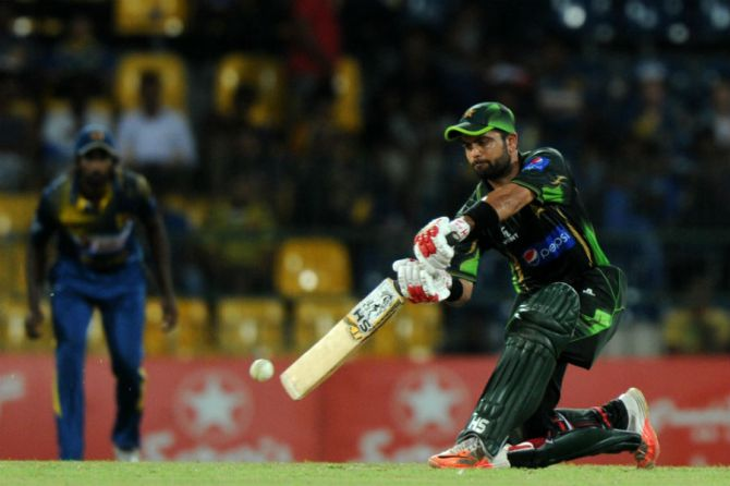 Shehzad was named Man of the Match for his knock of 95