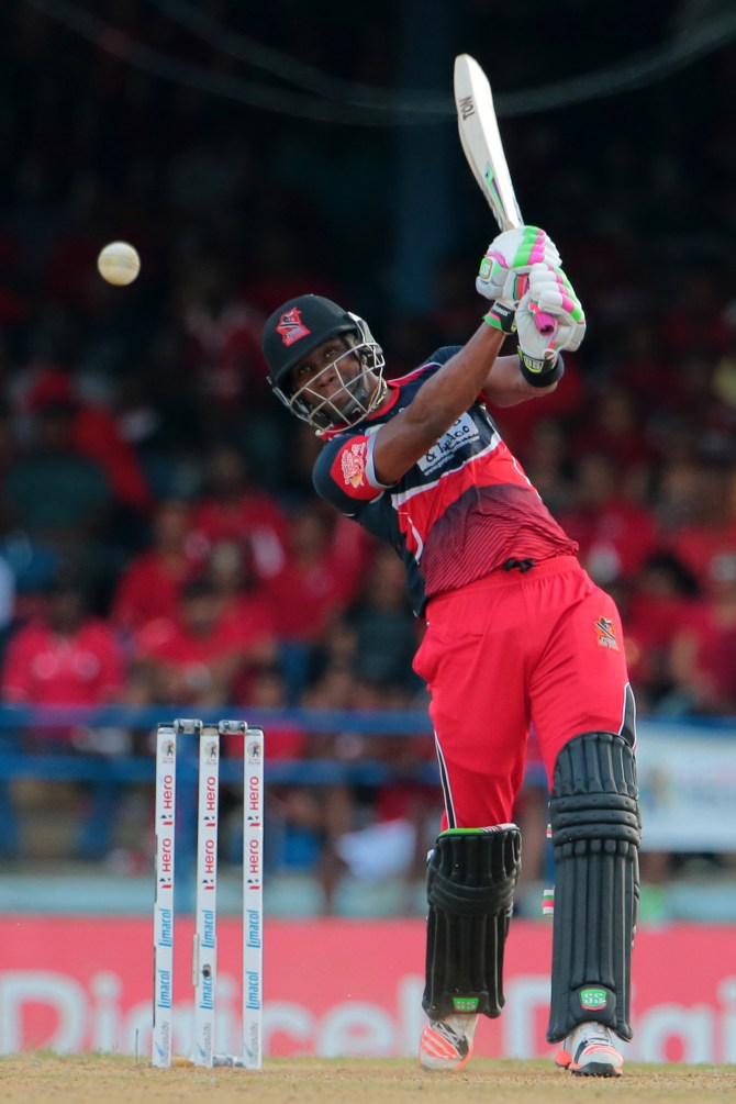 Bravo excelled with both the bat and ball