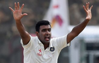 Ashwin finished with figures of 6-46 off 13.4 overs
