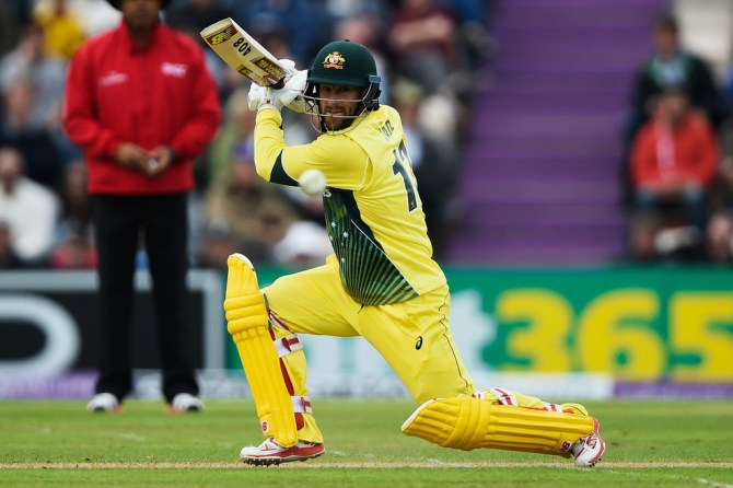 Wade scored his sixth ODI fifty
