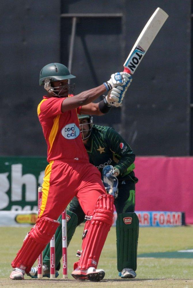 Chibhabha hit eight boundaries during his knock of 90