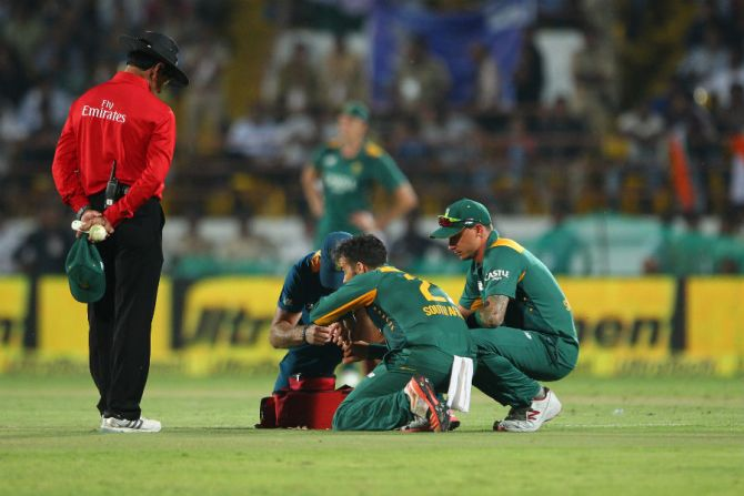 Duminy is expected to make a full recovery prior to the start of the Test series
